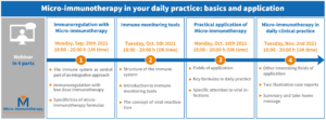 Micro-immunotherapy in your daily practice: basics and application - 4 parts (English)